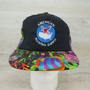 Vintage American Roofing Supply Tropical Fish Hat